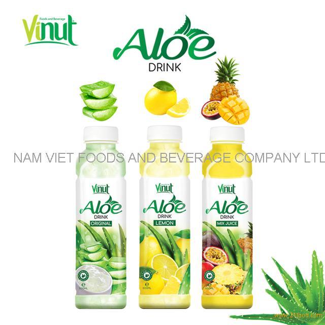 VINUT 500ml no preservative pet bottle aloe vera drink original