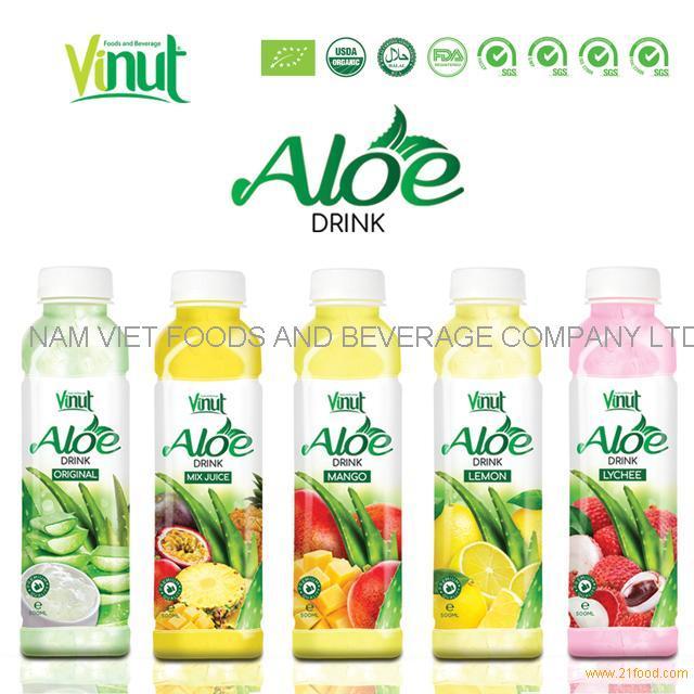 VINUT 500ml original and natural material aloe vera soft drink