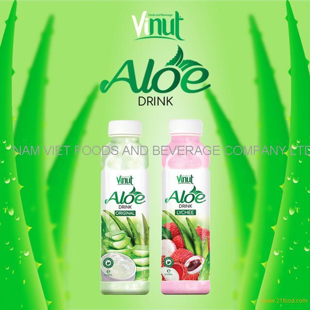 VINUT Best Seller 500ml Bottled Aloe Vera Drink Original