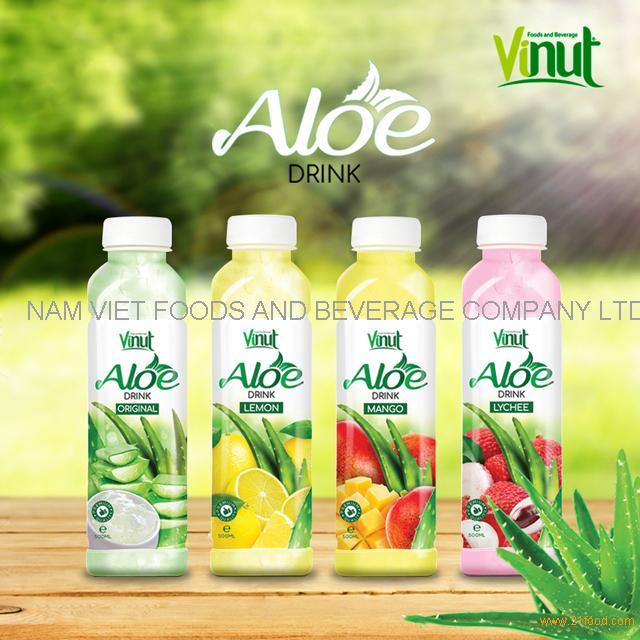 VINUT Bottle Package Hot selling Aloe Vera Original Flavor Drink Export