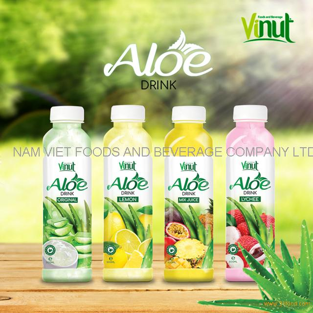 VINUT new label aloe vera raw material original aloe vera drink