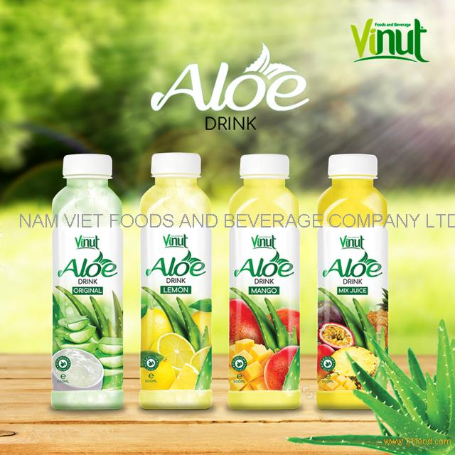 VINUT original flavor aloe vera juice soft drink