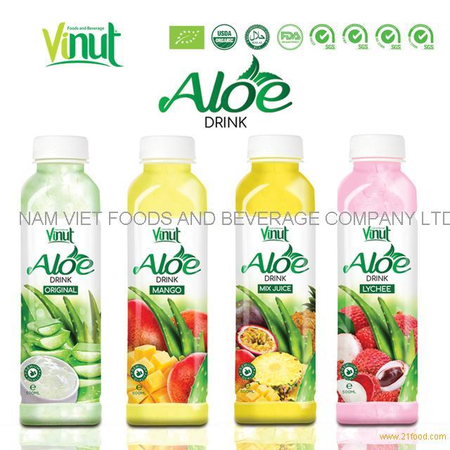 VINUT PET bottle packaging Hot selling aloe vera drink original
