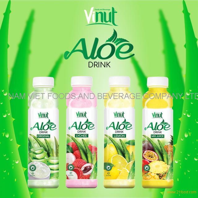 VINUT Best Seller Original Fresh Pulps Aloe Vera Drink