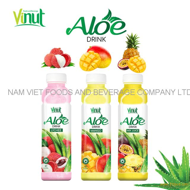 VINUT Original aloe vera soft drink with pulp