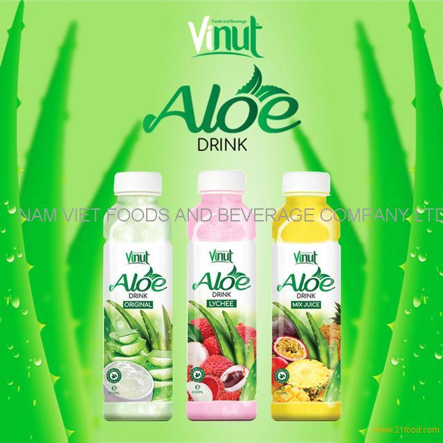 VINUT With Stevia Aloe Vera Drink Original