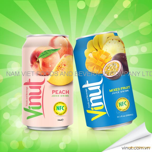 VINUT 350ml Good Taste Mango Canned Fruit Juice