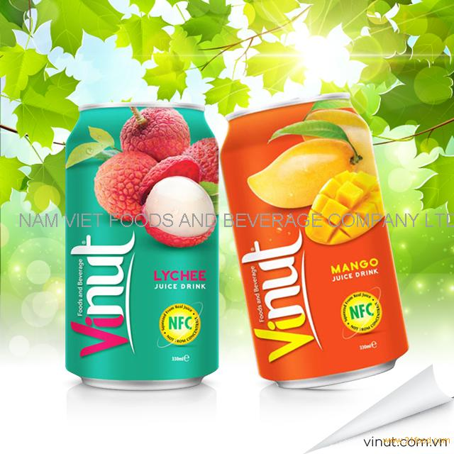 VINUT BRC,ISO Certification Fruit Canned Juice