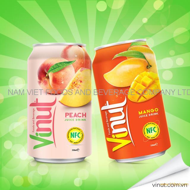 VINUT High Quality Tinned Mango fruit Juice