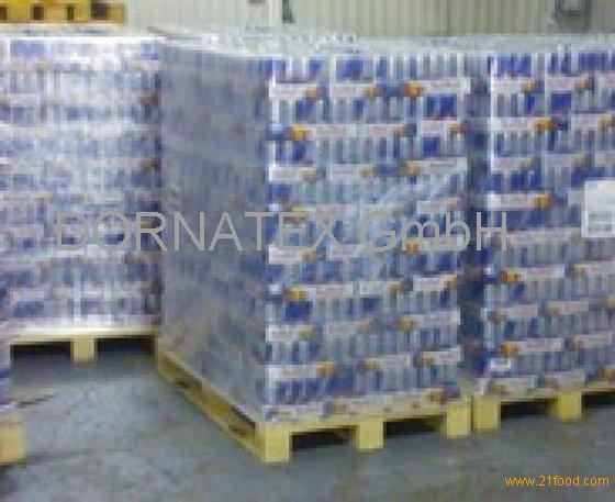 sell Bull blue slim can energy drink