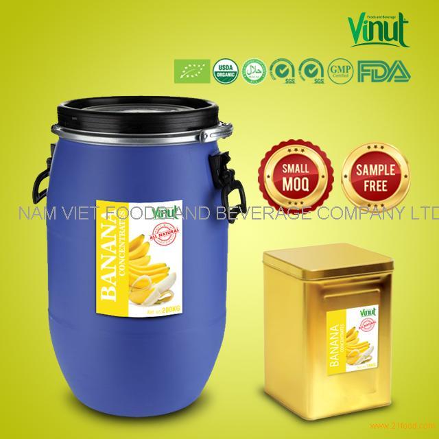 High Quality Banana Puree Fruit Pulp Juice Fruit Juice Concentrate