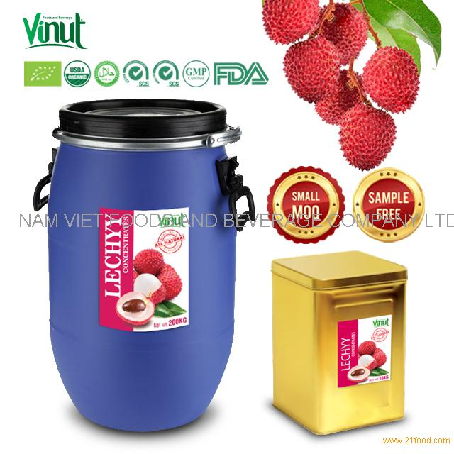 Vietnam Best Supplier Of Lychee Concentrated Juice