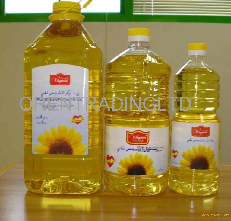 Sunflower oil...