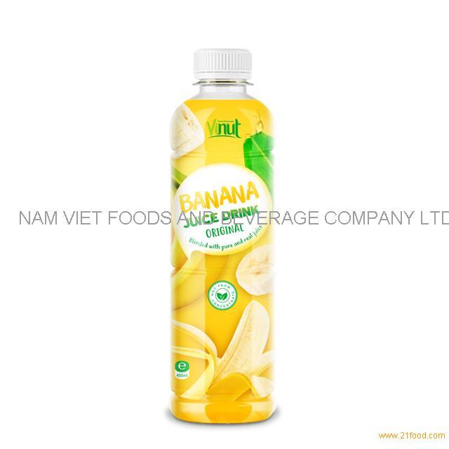 450ml Bottle Original Banana Juice Drink