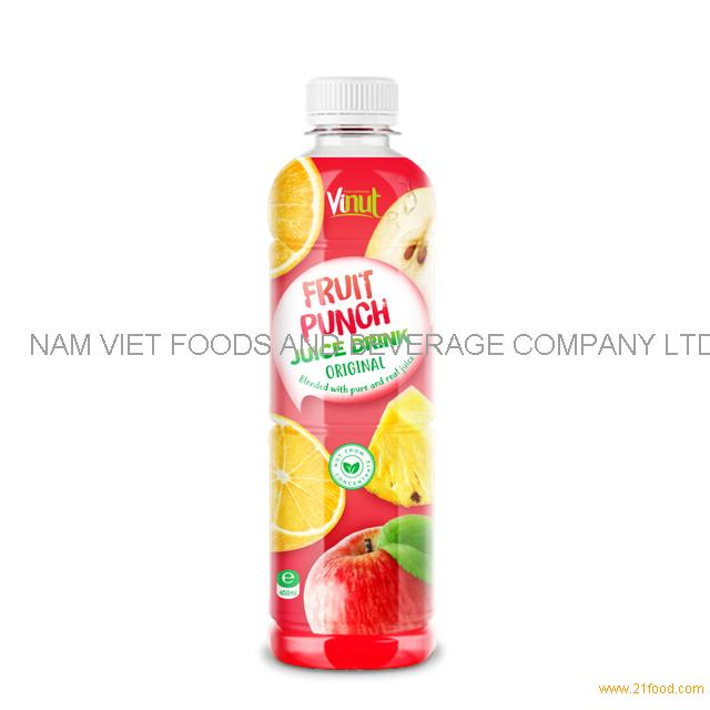 450ml Bottle Original Fruit Punch Juice Drink