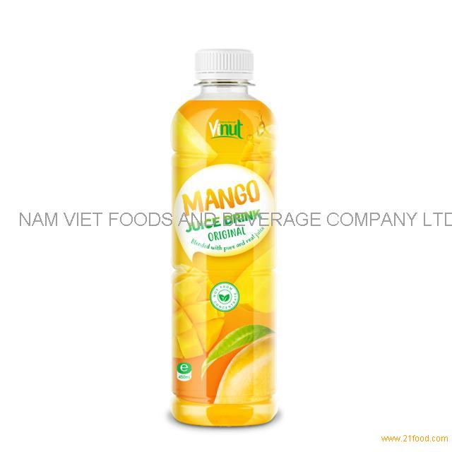 450ml Bottle Original Mango Juice Drink