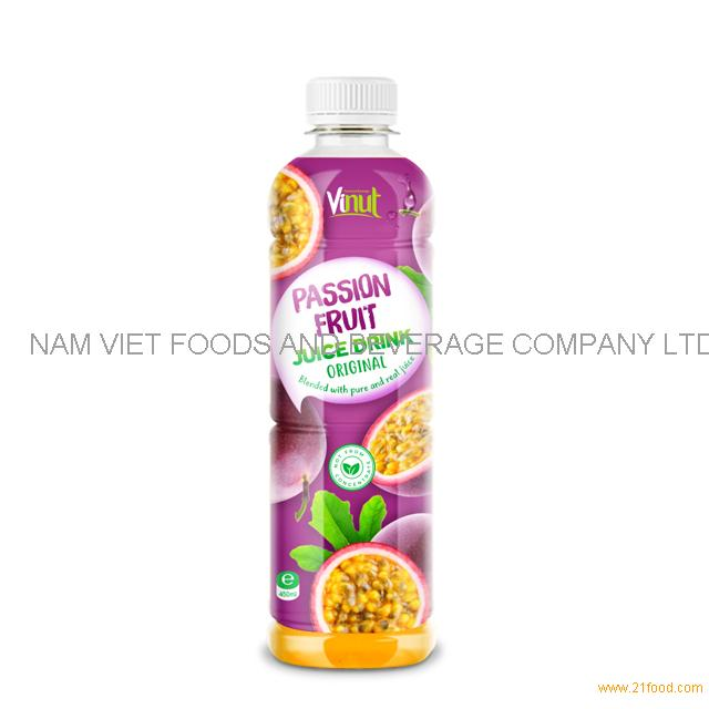 450ml Bottle Original Passion Fruit Juice Drink