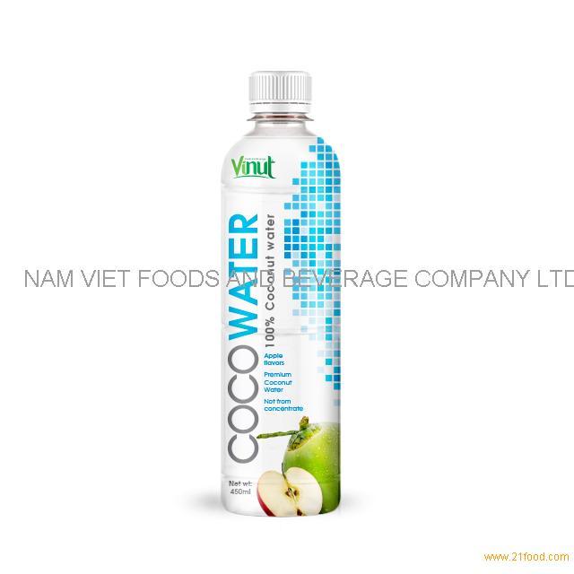 450ml VINUT Premium Coconut water with Apple juice
