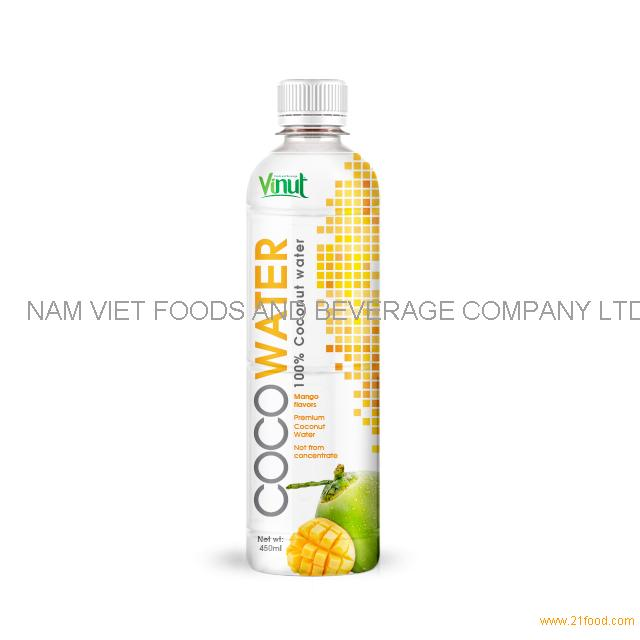 450ml VINUT Premium Coconut water with Mango juice