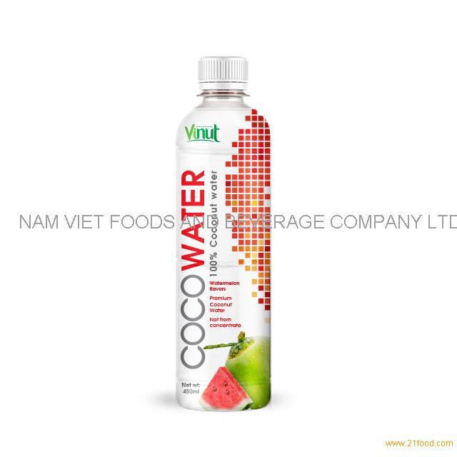 450ml VINUT Premium Coconut water with watermelon juice