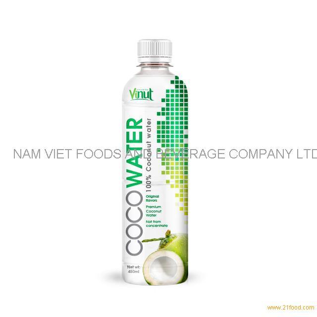 450ml VINUT Premium Original Coconut water