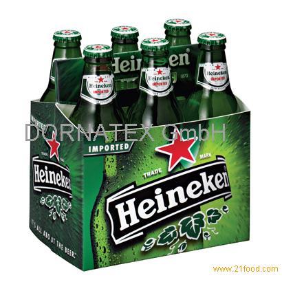 Heineken Beer From Holland .250ml, 330ml, 500ml and 650ml bottle/cans)