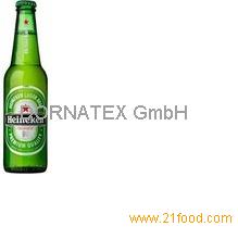 Heineken-- available in cans and bottle (250ml, 330 ml & 500 ml)