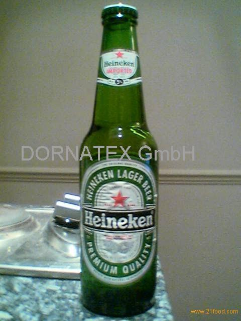 -Heineken -Beer- bottles