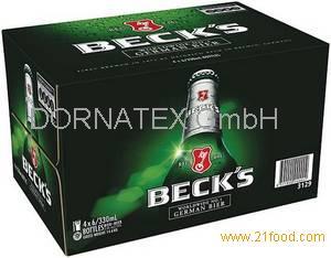 Becks Beer, Carlsberg Beer, Corona Beer,Carling Beers