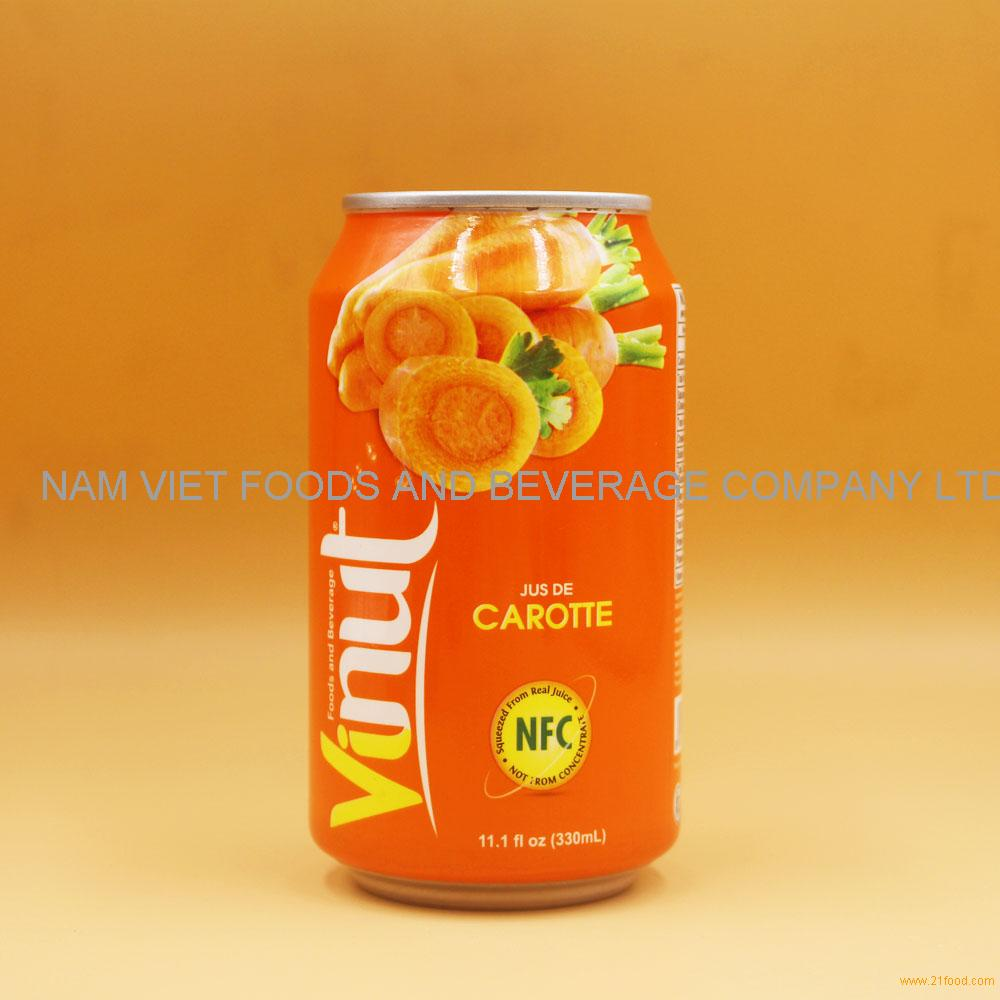 11.1 fl oz VINUT Carrot Juice Drink