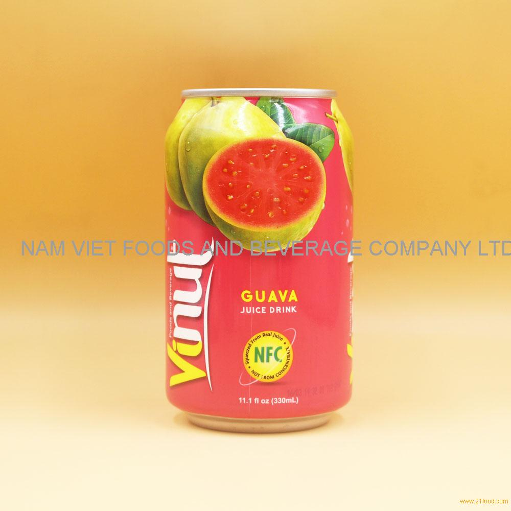 11.1 fl oz VINUT Guava Juice Drink
