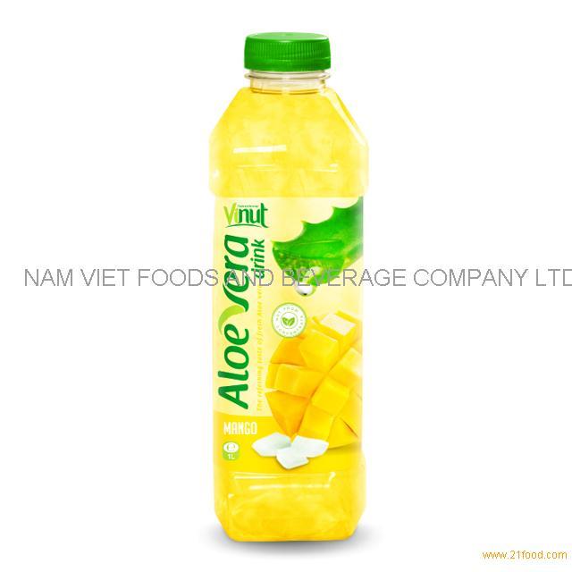 1L Bottle Premium Aloe Vera Drink with Mango juice