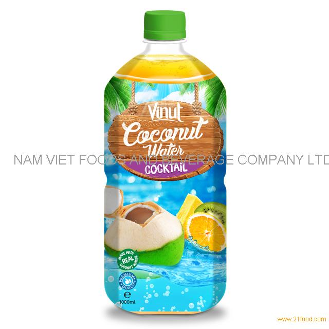 1L PET Bottle Original Coconut Water With Cocktail Flavour