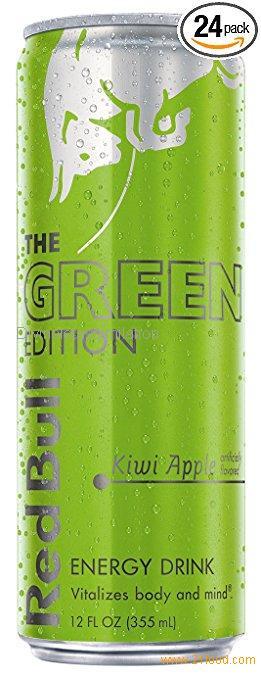 Red Bull Green Edition, Kiwi Apple Energy Drink