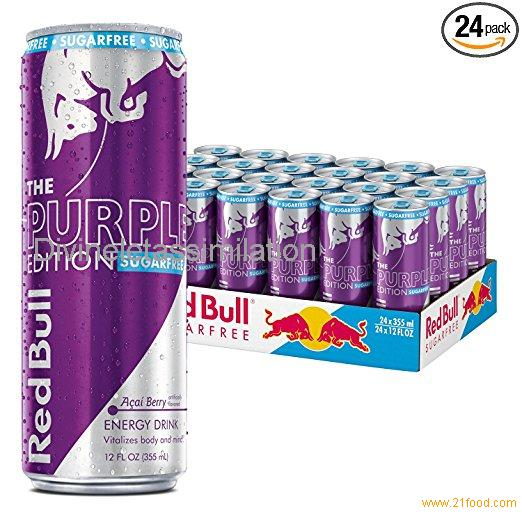 Red Bull Sugarfree Purple Edition, Acai Berry Energy Drink