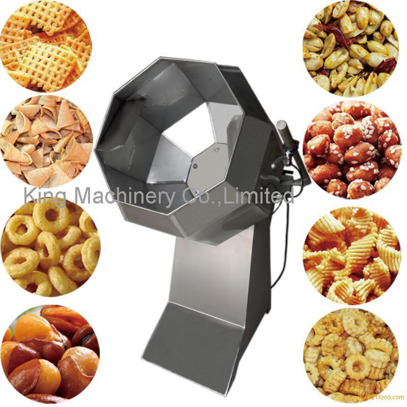 Condiment Potato Chips Roasting And Seasoning Machine