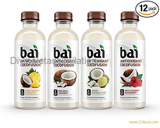 Bai Cocofusions Variety Pack, Antioxidant Infused Beverages