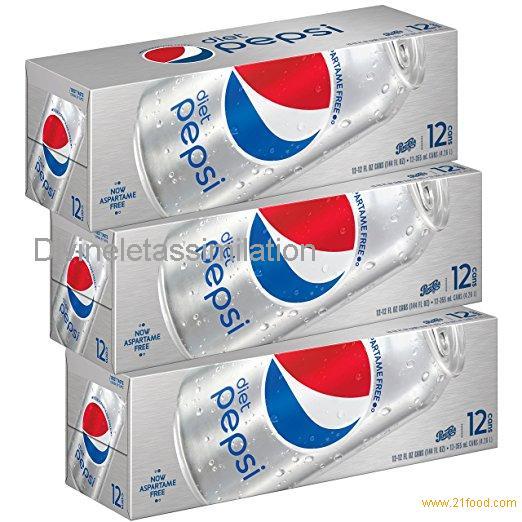 Diet Pepsi Soda, Fridge Pack Bundle