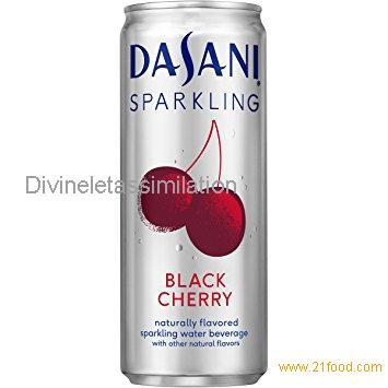 Dasani Sparkling Drinking Water, Black Cherry