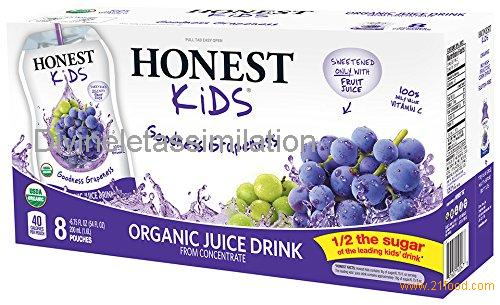 HONEST Kids Organic Juice Drink 5