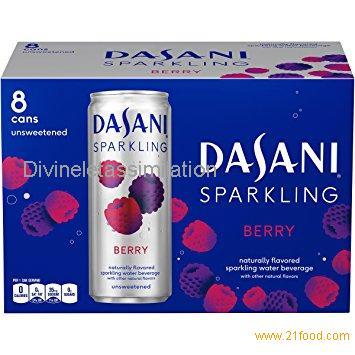 Dasani Sparkling Drinking Water, Berry,