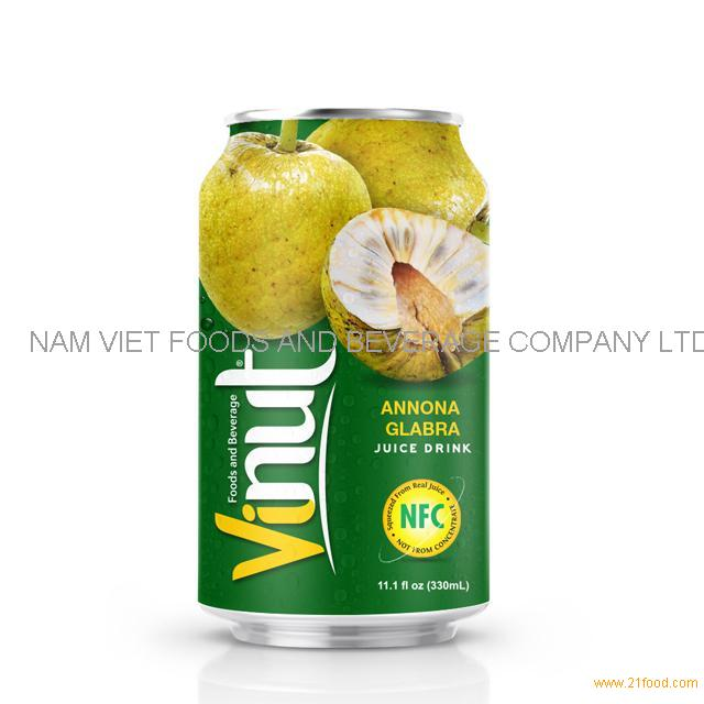 330ml Canned Annona Glabbra juice drink