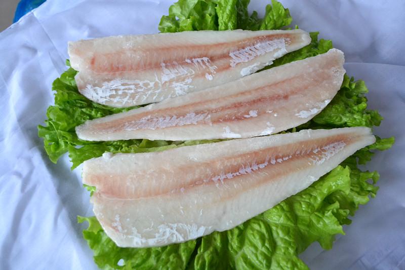frozen pacific cod fillet