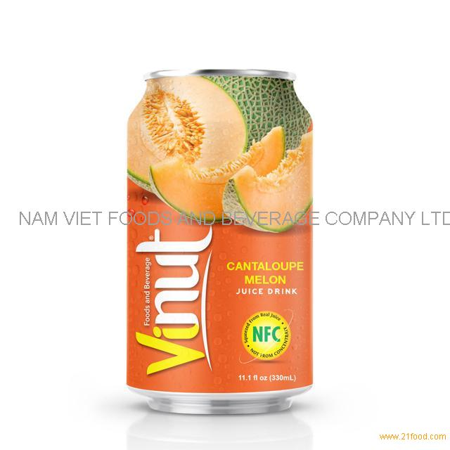 330ml Canned Cantaloupe juice drink