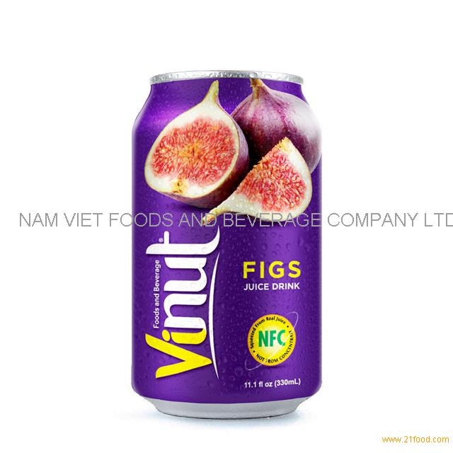 330ml Canned Figs juice drink