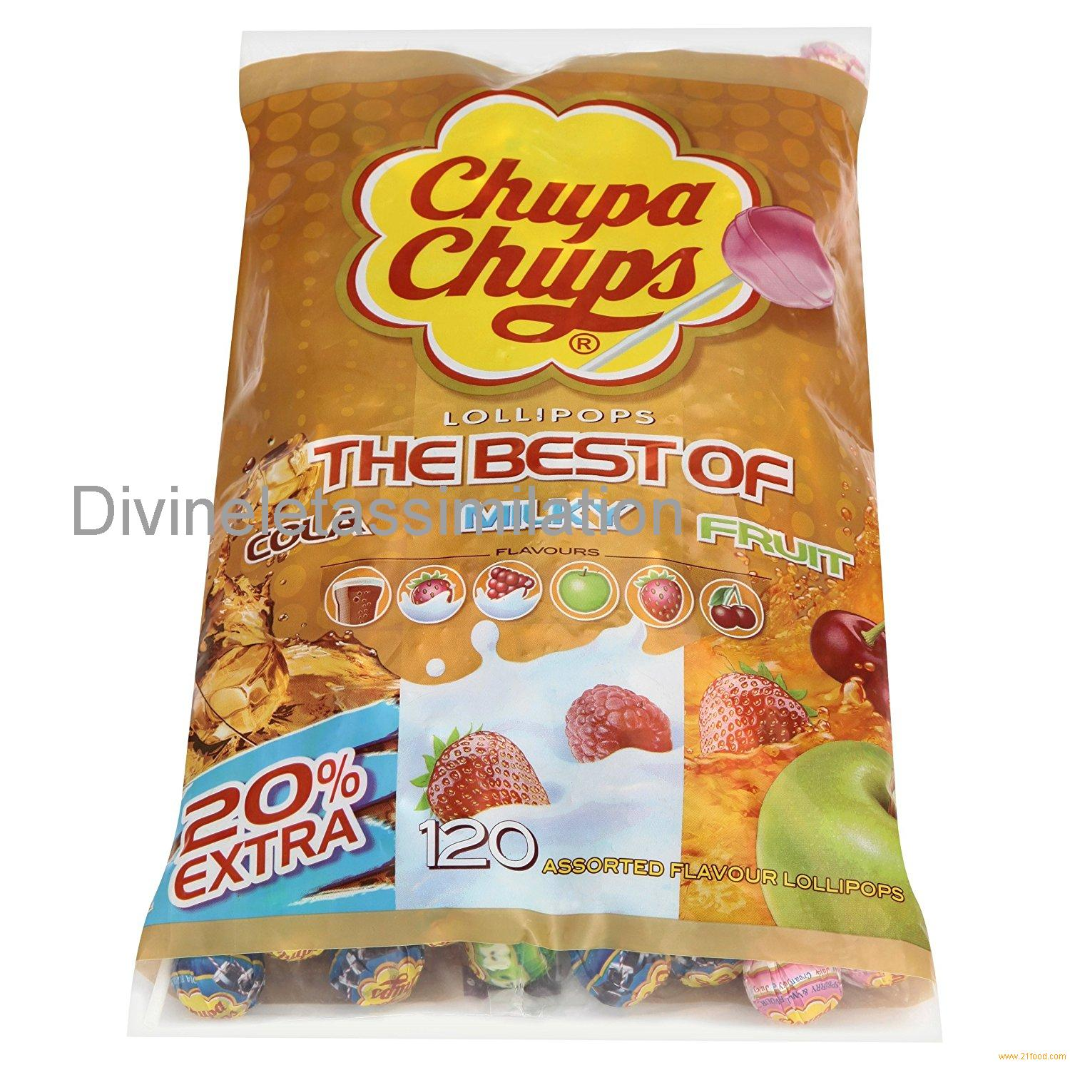 Chupa Chups The Best Of 120 Lollipops