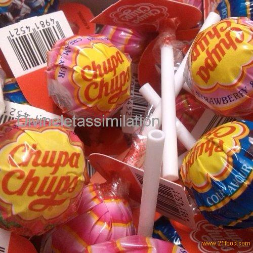 30 x Chupa Chups Lollies Assorted Flavours (BEST OF)