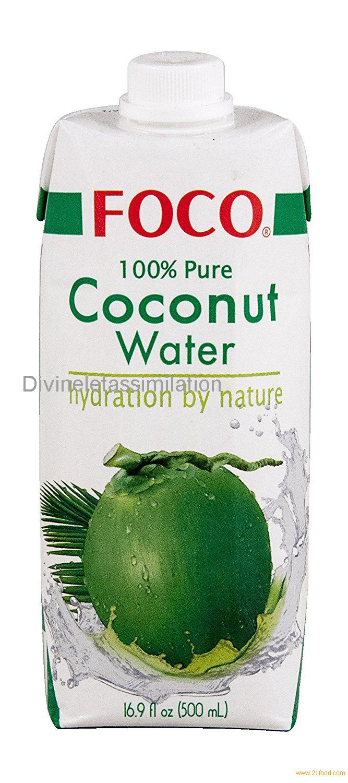 Foco 100% Pure Coconut Water 500ml