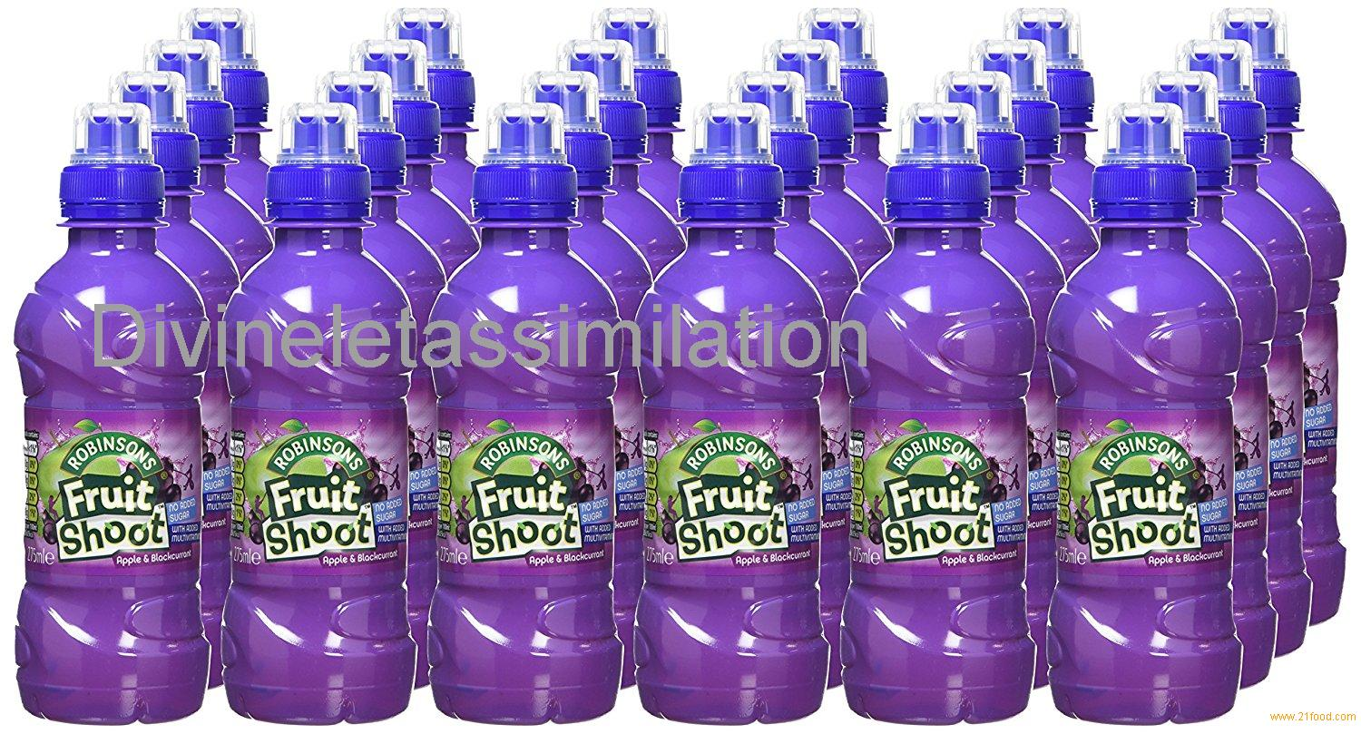 Fruit Shoot Apple and Blackcurrant Juice, 275 ml (Pack of 24)