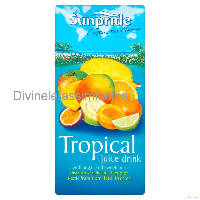 Sunpride Tropical Juice Drink, 1l